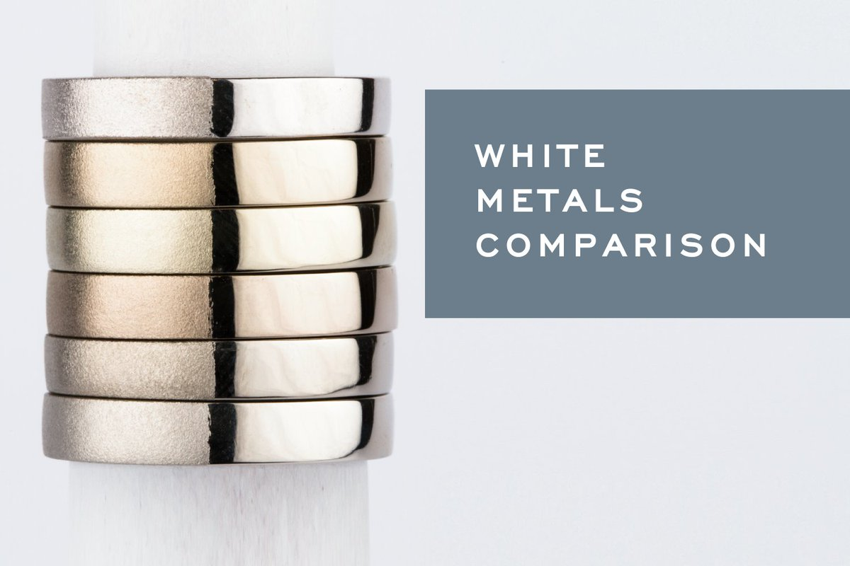 What's the difference between your white metal options? We break down white gold, platinum and palladium here.