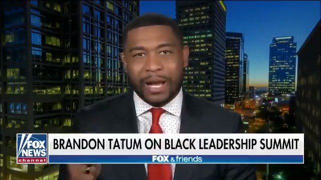 """He should be ashamed of himself"" -@TheOfficerTatum fires back at Al Sharpton for calling Trump's Young Black Leadership Summit a 'photo op'"