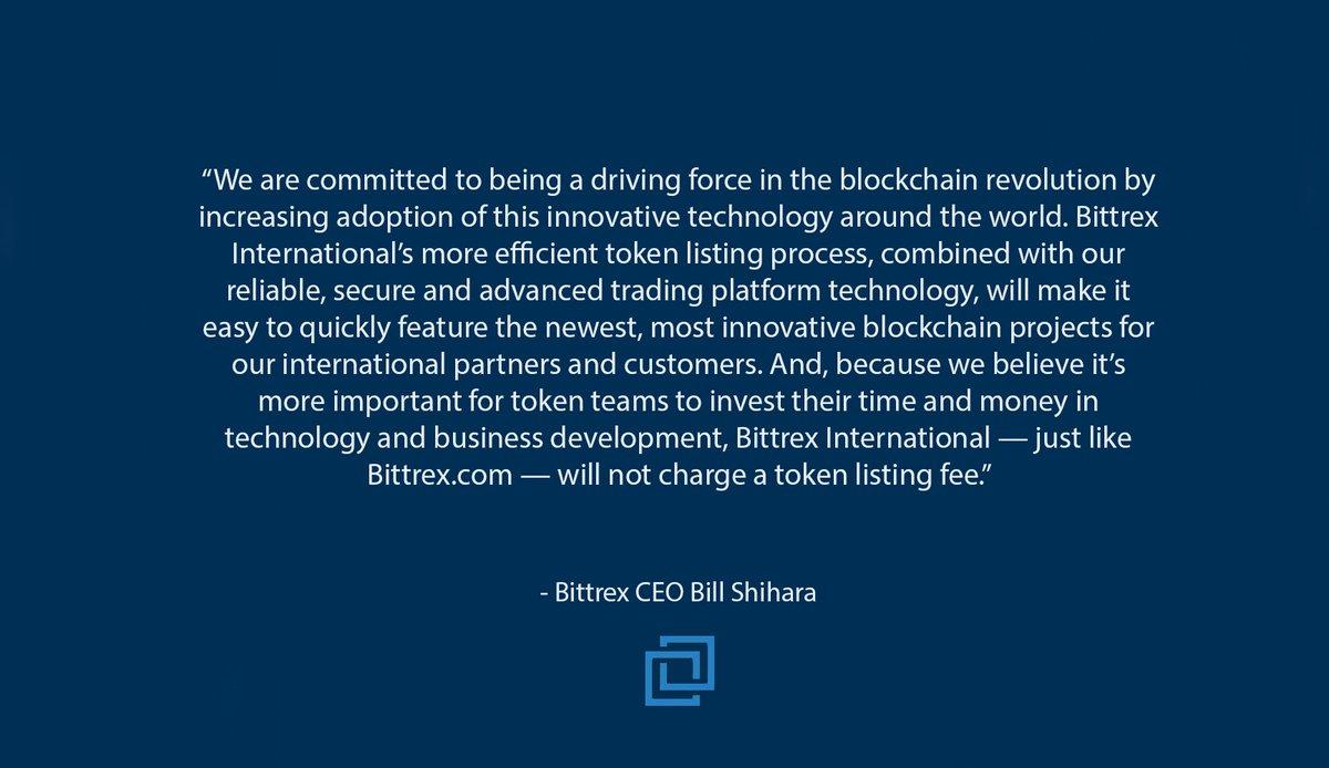 Bittrex International to Launch Trading Platform
