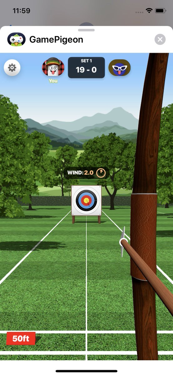 Image result for game pigeon archery