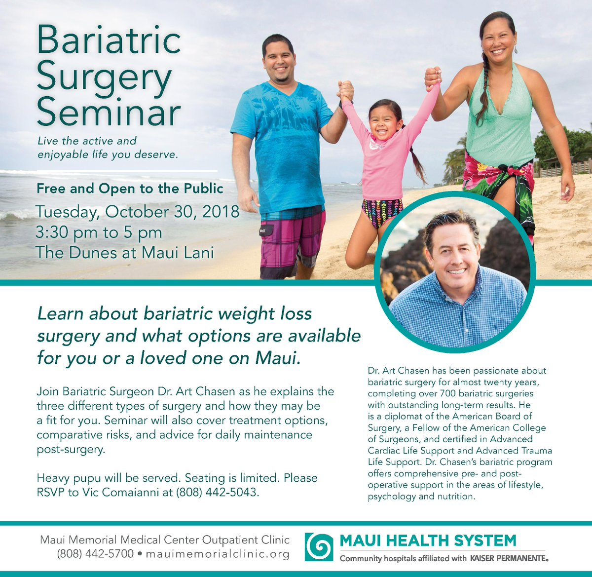 Maui Memorial On Twitter Thinking About Weight Loss Surgery Learn
