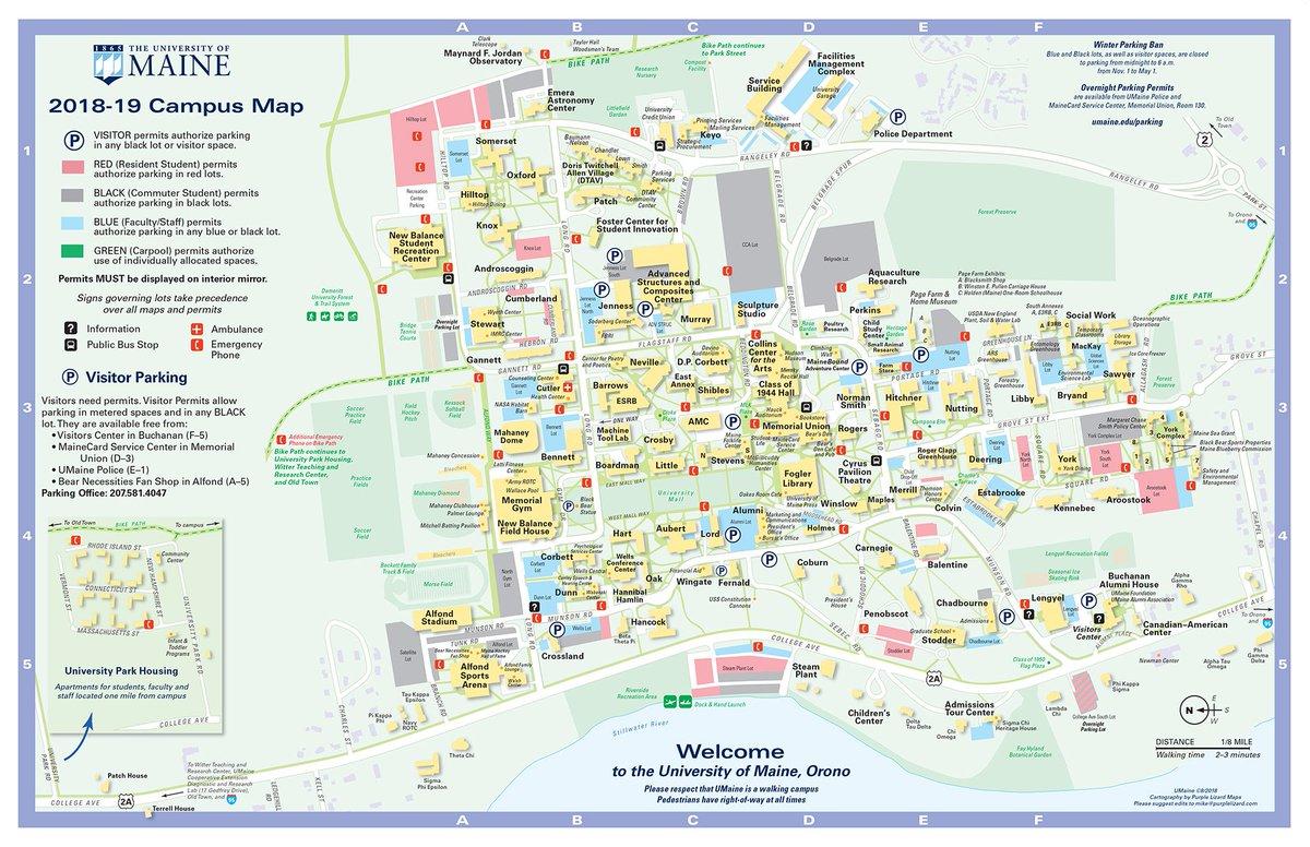 Usm Maine Campus Map Www Topsimages Com