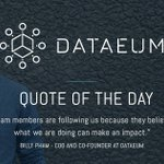 Image for the Tweet beginning: #quoteoftheday #dataeum #data
