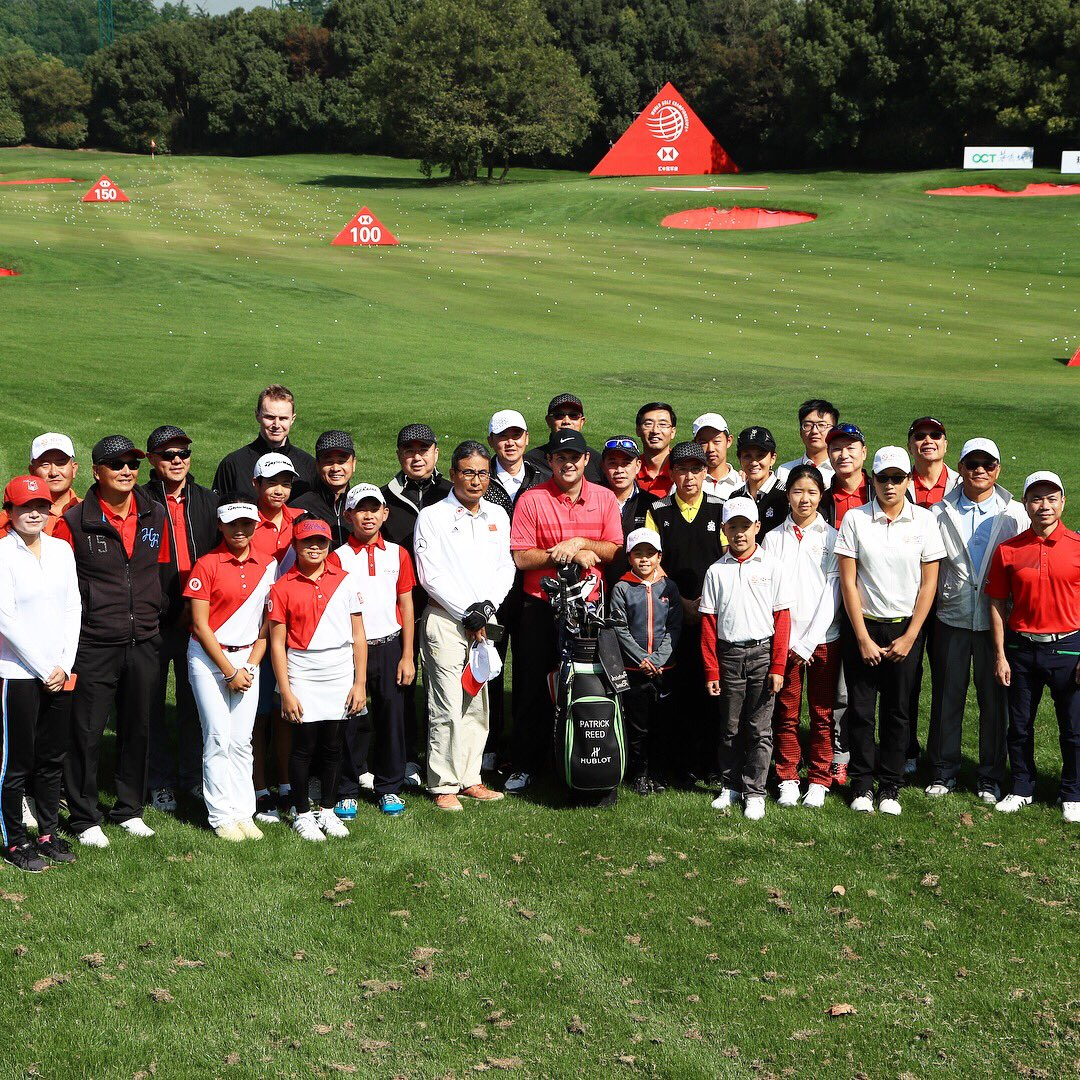 We had a junior clinic with @HSBC_Sport to round out the week in Shanghai. Great to see their commitment to growing the game here.
