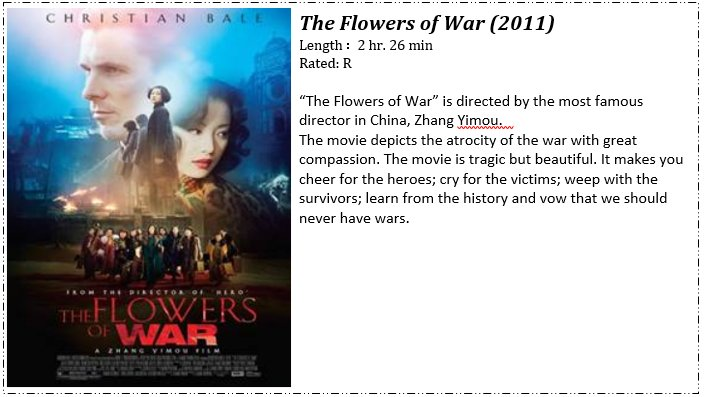 the flowers of war full movie free