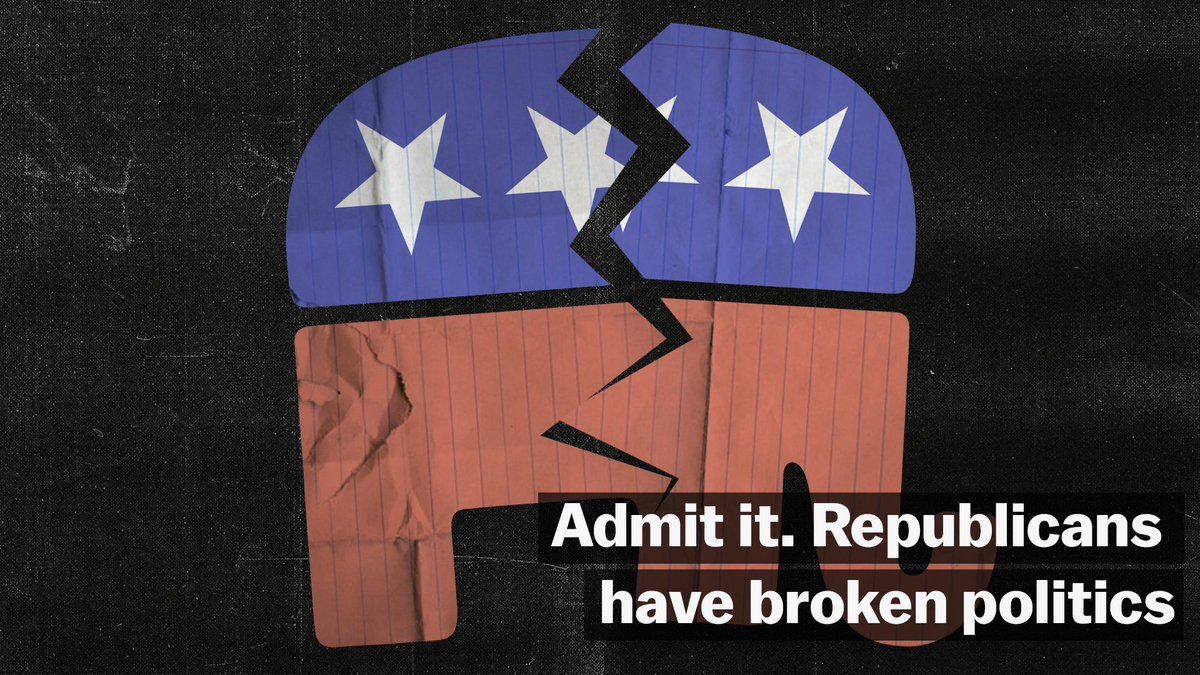 Republicans in Congress have been drifting towards political extremism since long before Trump, and they're making it impossible for Congress to work the way it's supposed to.