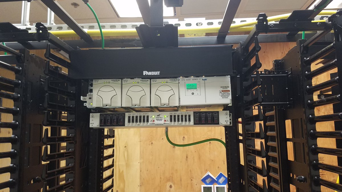 relay rack in a data center in tucson  let us help customize your power  plant installation needs today, we are happy to help!