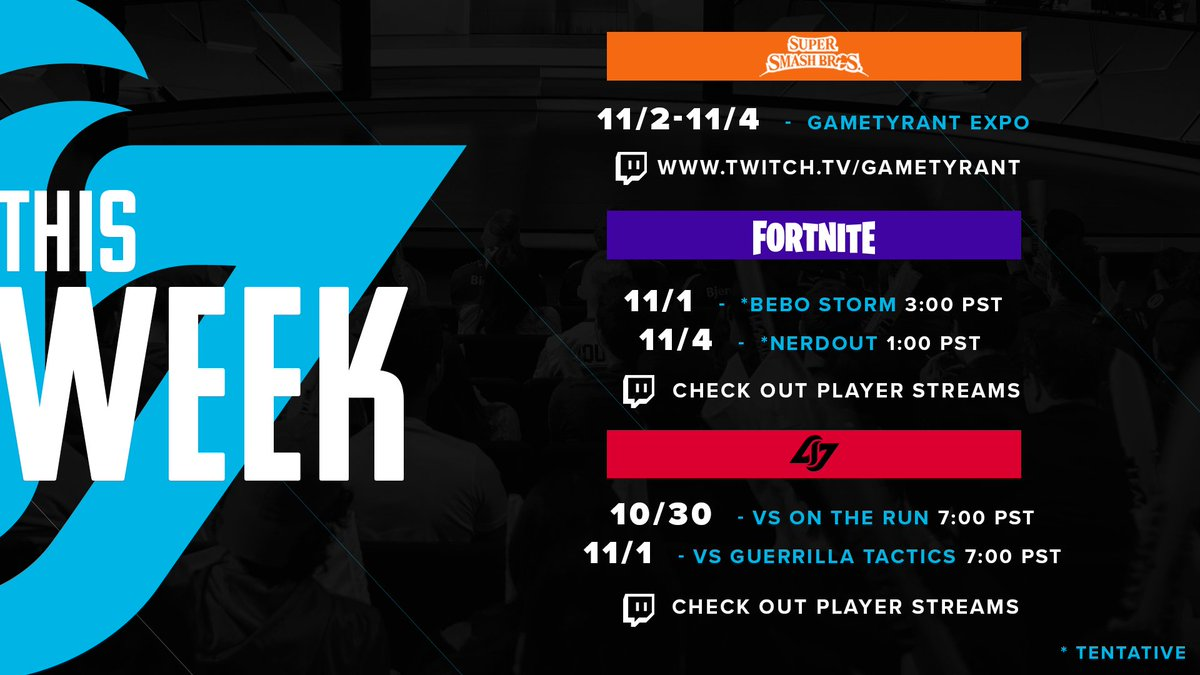 it s monday no worries we look ahead for an awesome week of clg matches clgred - newegg clg fortnite challenge