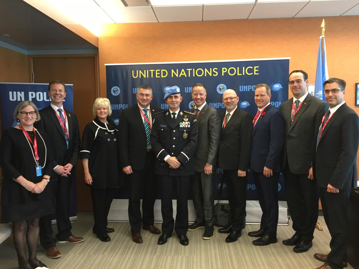 "Excellent interaction with Parliamentarians from ""Canada's House of Commons Standing Committee on National Defence"" on how #Police can help to prevent conflict and sustain peace / Thank you #Canada for the support to United Nations Police #UNPOL #OROLSI #DPKO https://t.co/D5FxMQdrdm"