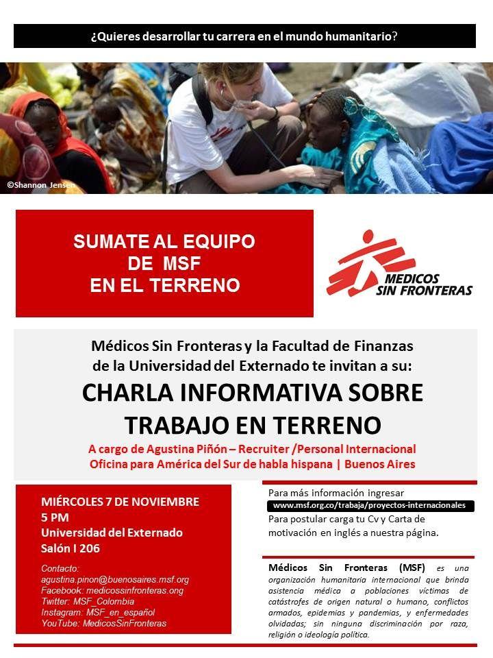 Figri Uexternado على تويتر Médicos Sin Fronteras Visitará