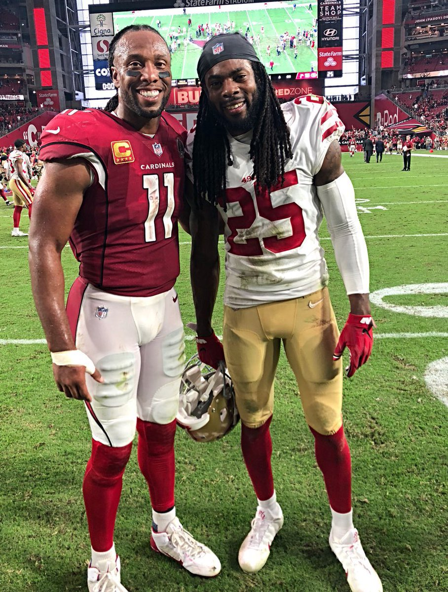 So much love and respect for this man...appreciate you always @RSherman_25 🙌🏾