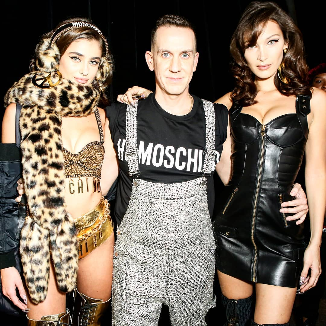 Groovy Fun was had by all #TaylorHill #jeremyscott #bellahadid #hmoschino #hm #runwayshow #backstage #moschino @hm #mensfashion #womensfashion #stylehim #styleher http://unnamedproject.com/featured/moschino/ … @hm @Moschino
