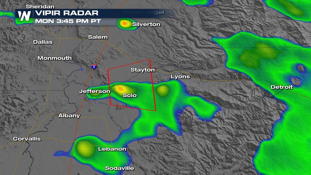 Lyons Oregon Map.Weathernation On Twitter Tornado Warning For Southwestern Marion