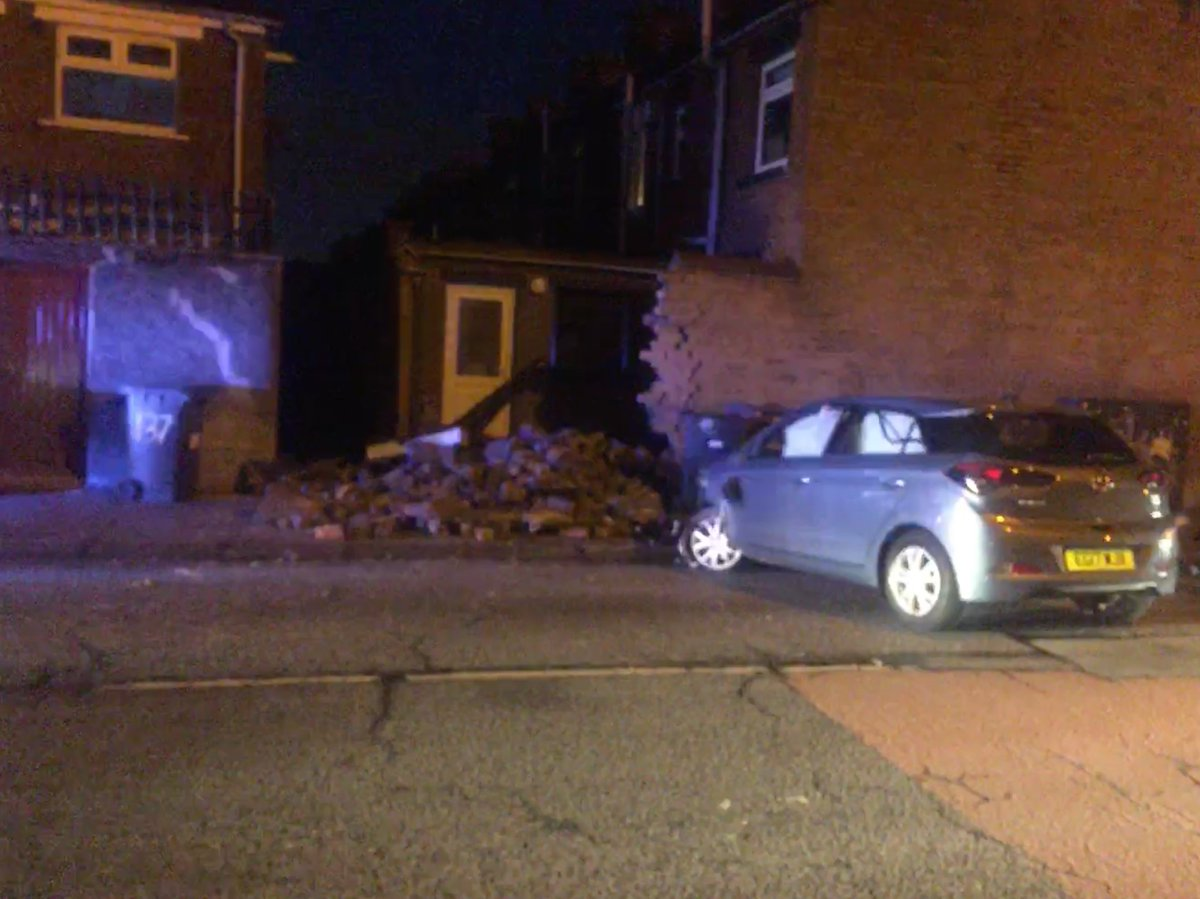 """bbc news ni on twitter: """"car crashes into side of house in south"""
