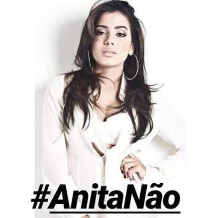 #AnitaNão #unidossomosfortes