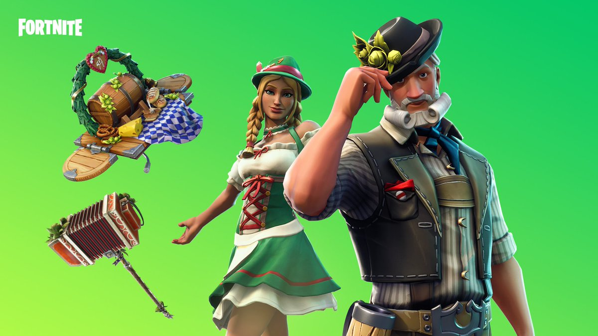 Fortnite On Twitter Party Like It S 1810 The Oktoberfest Gear And
