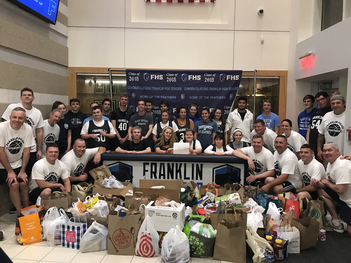 What a night! Unified Sports and the Food Pantry Challenge