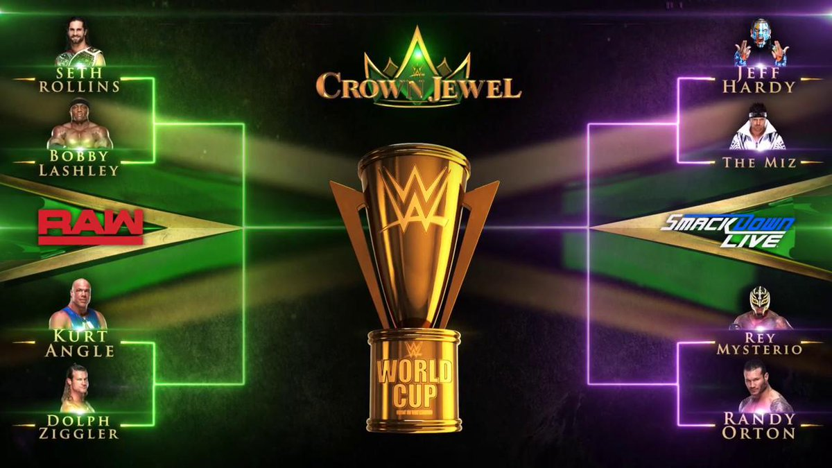 WWE Announces World Cup Tournament Brackets (Photo)