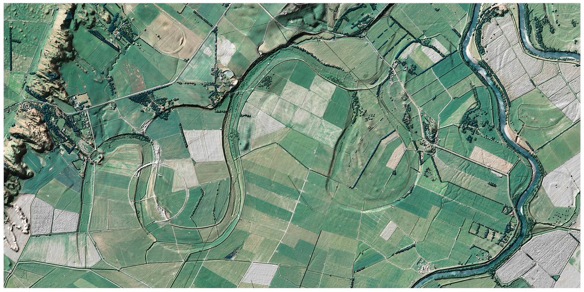 Designed by us as a poster to support the Government's LiDAR announcement, this visualisation shows the incredible detail that can be derived when blending LiDAR and aerial imagery (Ruamahanga River, Wairarapa) #opendata #lidar http://bit.ly/2RkT6o5