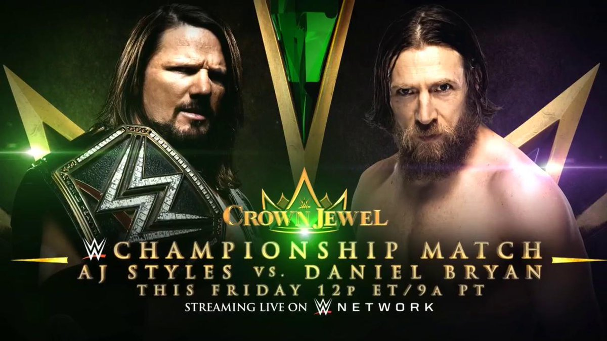 WWE Crown Jewel: Lesnar wins Universal title as Michaels makes triumphant return