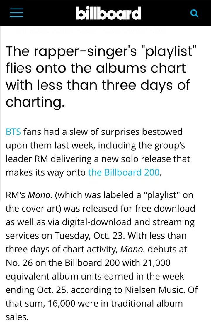 Bts Rm Mono Album Download