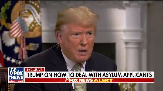 Trump says he'll put any asylum seeker from migrant caravan in 'tent cities'