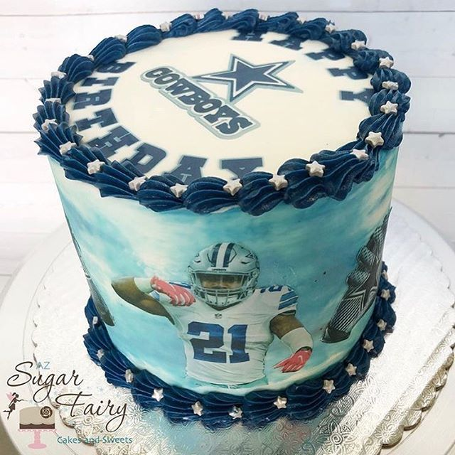 Topperoo Designer On Twitter Birthday Cake For A Dallas Cowboys
