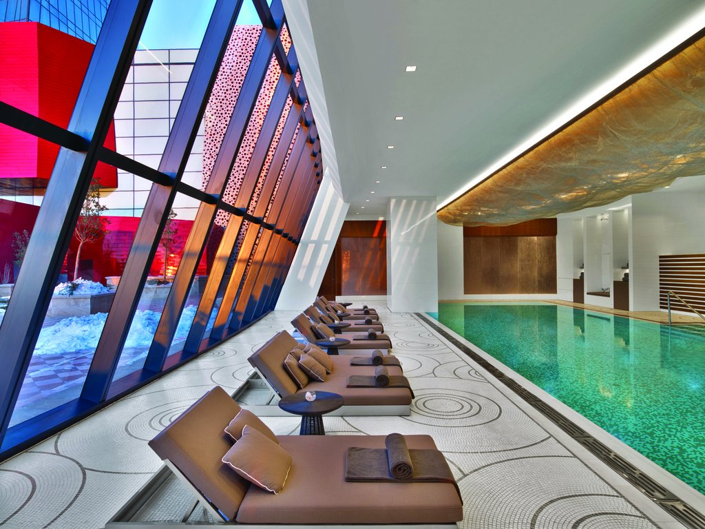 Did you know that our SPA is the largest #spa and wellness center in Baku with 14 Treatment Rooms, Pools, Poolside Saunas, Sky Garden, Hamam, Gym, Yoga Studio, Cafe and Lounge.  #fairmontbaku #fairmontmoments #flametowers #baku #azerbaijan #accorhotels #luxuryhotels #besthotels https://t.co/0VLQxfNHYj