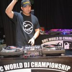 Image for the Tweet beginning: DJ Sir Scratch representing the