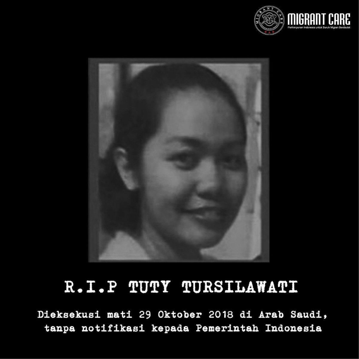 Arab Saudi eksekusi mati Tuty tanpa pemberitahuan ke Indonesi