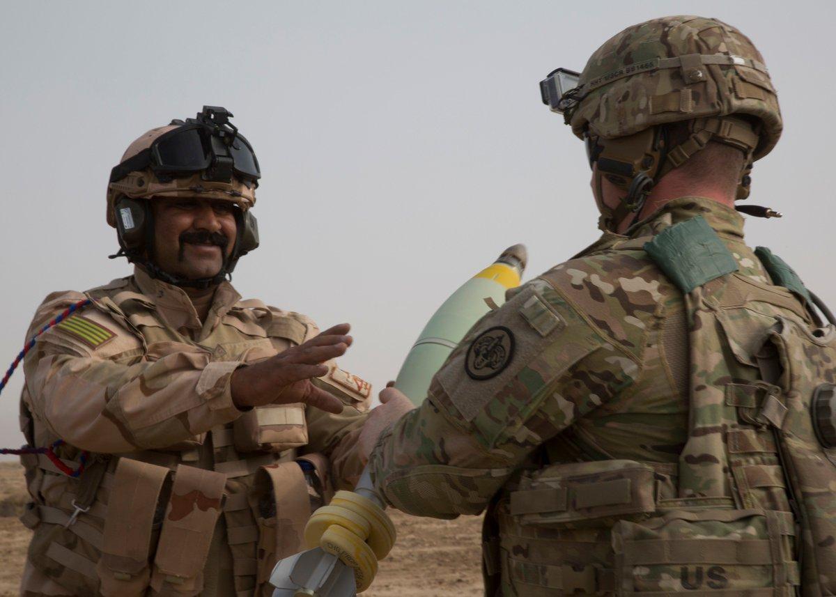 جهود التحالف الدولي لتدريب وتاهيل وحدات الجيش العراقي .......متجدد - صفحة 4 DqvLHL2VsAAW65w