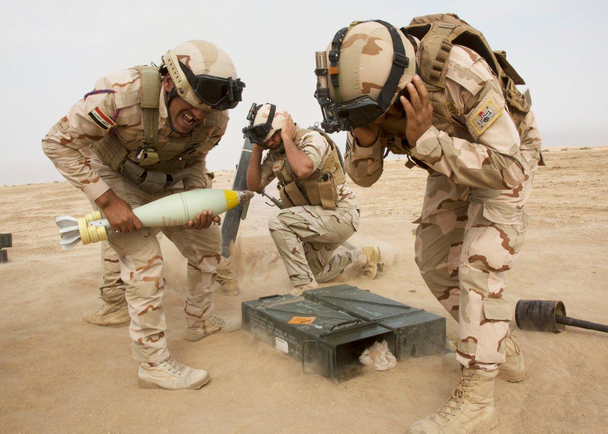 جهود التحالف الدولي لتدريب وتاهيل وحدات الجيش العراقي .......متجدد - صفحة 4 DqvLHLzUcAEgQTt