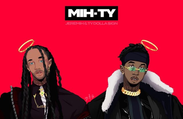 @tydollasign @Jeremih  I've been stuck on this album for 3 days now. I can't stop playing it #MihTy
