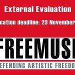 Image for the Tweet beginning: Freemuse is seeking an external
