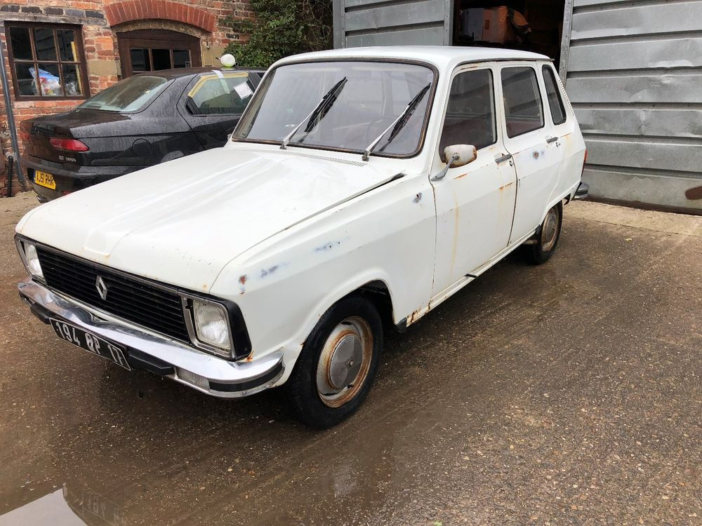 Uk Classic Cars On Twitter Ebay Renault 6 1973 Lhd French Registered With Documents Https T Co H91gjjxdio