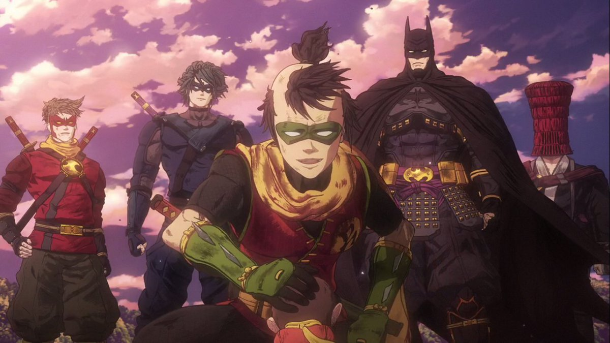 Best Of Jason Todd The Zombie Robin On Twitter Batman Ninja Is Now On Netflix