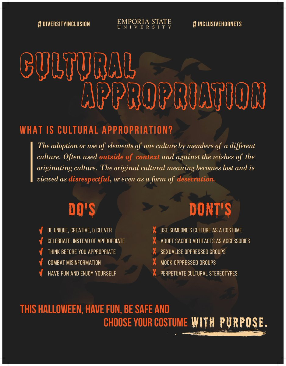 """diversity at esu! on twitter: """"halloween is tomorrow and we want to"""