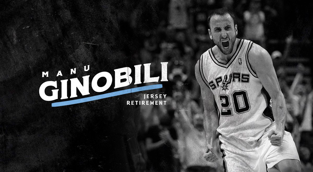 8f4b65e41fc5 the san antonio spurs today announced that they will retire manu ginobilis  no 20 jersey on