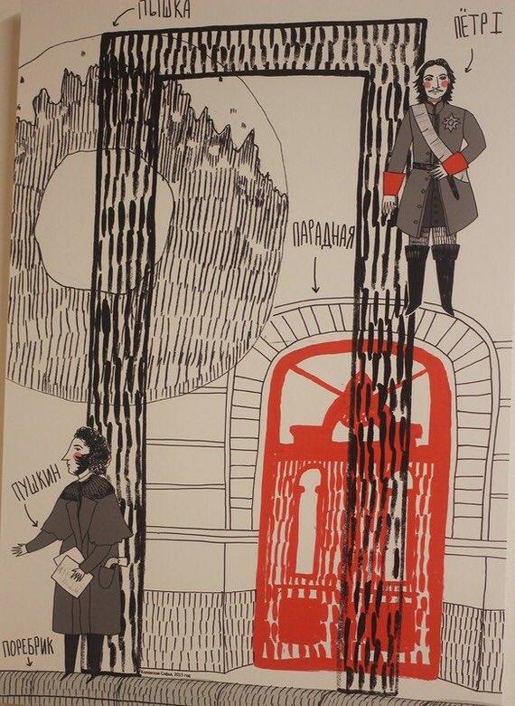 Картинках, открытки петербургский алфавит