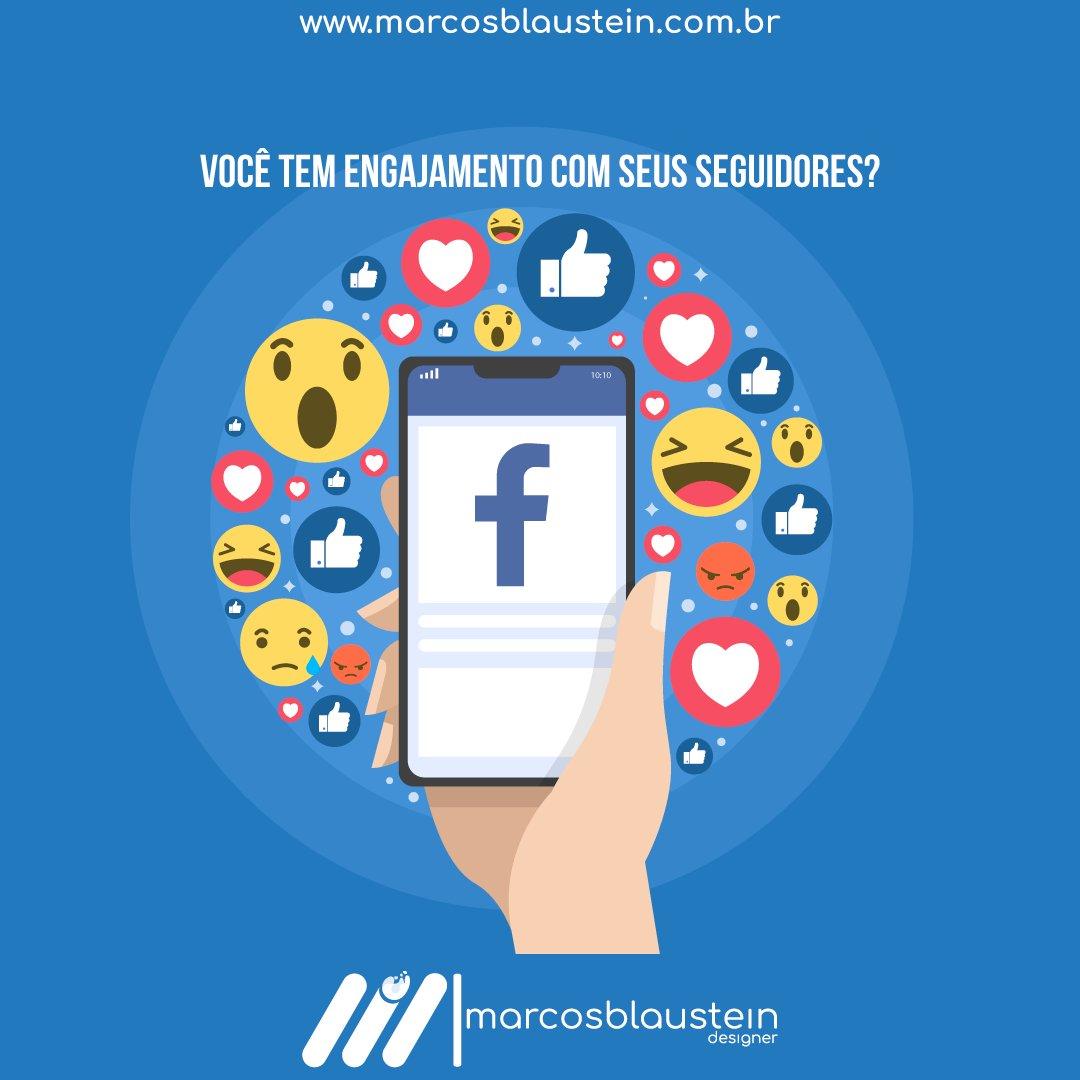 Você tem o engajamento que deveria com seus seguidores?  Vamos criar ou melhorar seu contato com seus seguidores? Vamos bater um papo?  Entre em contato: (11) 98995-4992 http://www.marcosblaustein.com.br