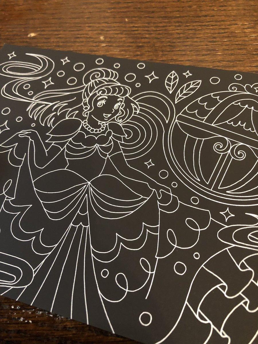 test ツイッターメディア - 前からずっと気になってた スクラッチアートが DAISOに! 早速やってみよう #スクラッチアート #DAISO https://t.co/l2zHm7BcbY
