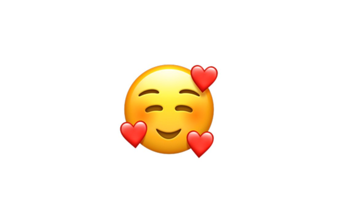 "Emojipedia on Twitter: ""New in iOS 12.1: 🥰 Smiling Face With 3 Hearts  https://t.co/6eajdvueip… """