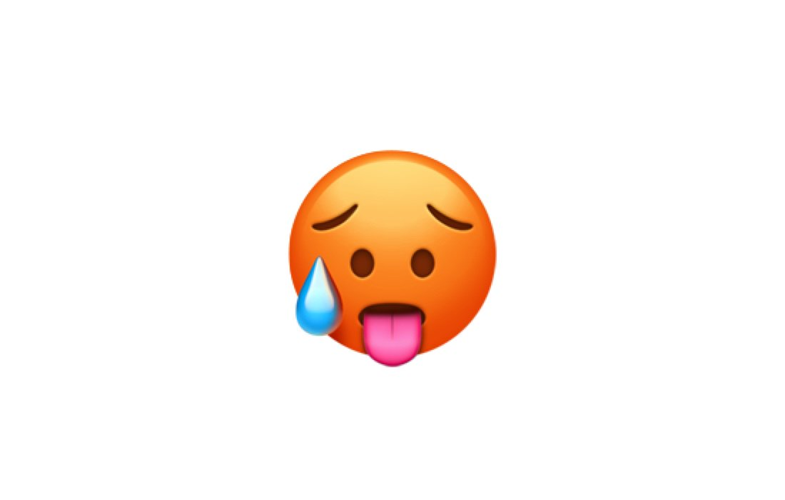 Emojipedia On Twitter New In Ios 121 Hot Face Httpstco