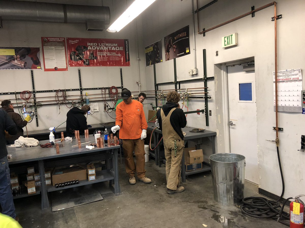 Plumbers Local 3 On Twitter 5th Year Apprentices Working Towards