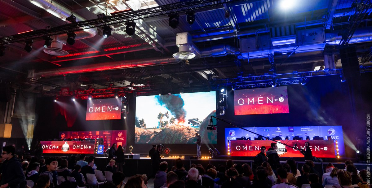 Are you enjoying the #OMENTrophy #PUBG so far ?  The 14th game will soon finish, the last one will be explosive !  Official streams : one link, 3 choices 🇩🇪 🇫🇷 🇬🇧  📺 https://t.co/6JrMYf3sAN