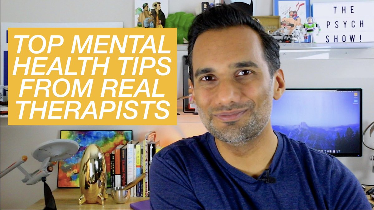I asked all of my therapist friends for their best mental health tips. Over 75 responded. In this video I'm sharing my favorite responses and helping you apply them to your life today! youtu.be/gwmv_KGdceA