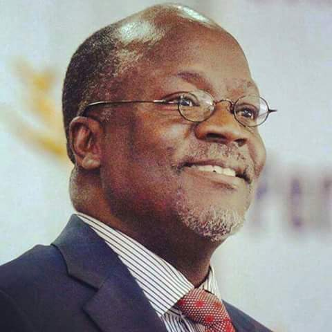 Happy birthday Dr. John Pombe Magufuli may your hard working brings prosperity and development of Tanzania.