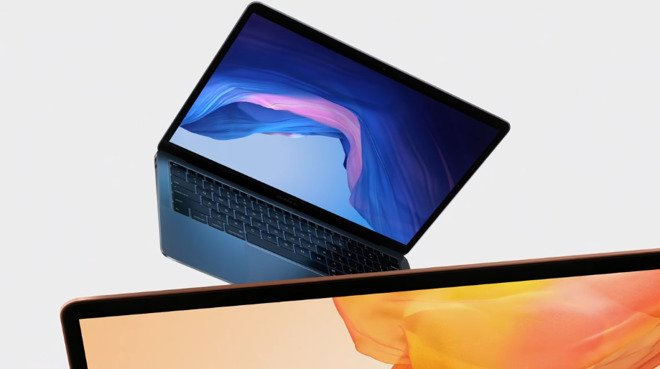 #Apple announces updated #MacBookAir with Retina display, Touch ID #appleevent https://t.co/J6BCR3qJWW
