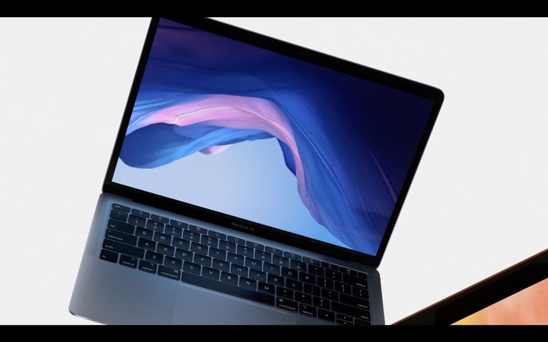 new macbook air features