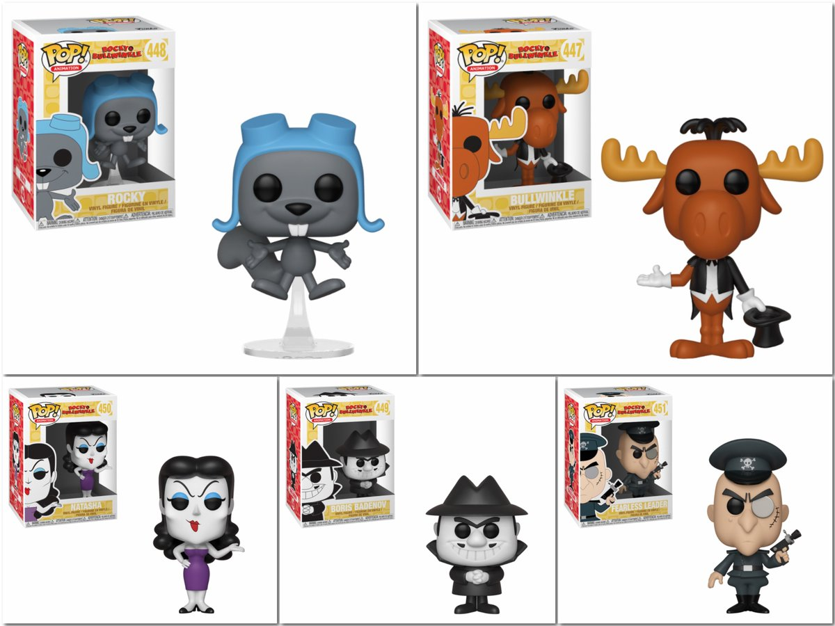 Funko On Twitter Heres A Closer Look At Our Rocky Bullwinkle